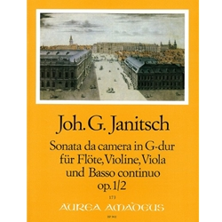 Janitsch Sonata da camera op. 1/2 in G Major