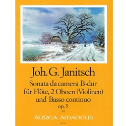 Janitsch Sonata da camera in B-flat Major op. 3