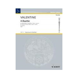 Valentine 4 Duets from Op. 6 (Sc)