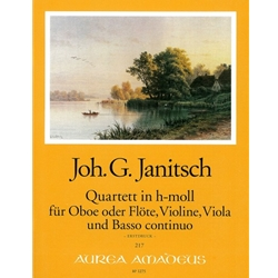 Janitsch Quartet in b minor