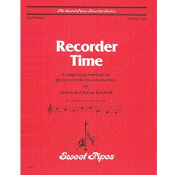 Burakoff, Gerald Recorder Time, Book 1