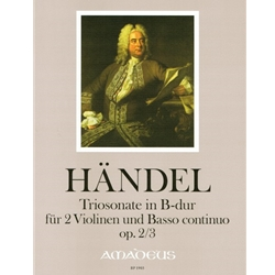 Handel, GF Trio sonata in B-flat Major op. 2/3