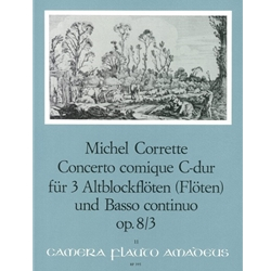 "Corrette, Michel Concerto comique in C Major, op. 8/3 (""Margoton"")"
