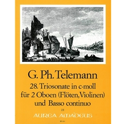 Telemann, GP Trio Sonata 28 in c minor (TWV42:c4)