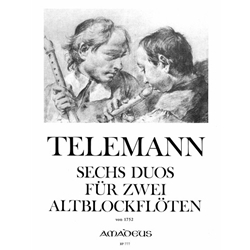Telemann, GP 6 New Duos (1752)