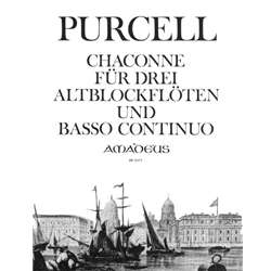 Purcell, Henry Chaconne (3 parts upon a Ground...)