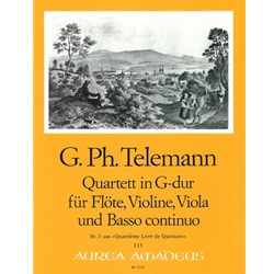 Telemann, GP Quartet 5 in G Major (TWV 43:G5)