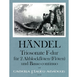 Handel, GF Trio Sonata in F Major