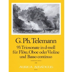 Telemann, GP Trio sonata in d minor (TWV 42:d4)