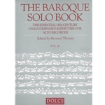 Thomas: Baroque Solo Book (essential unaccompanied 18th-c. repertoire; 121 pp)