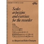 Donington, Robert Scales, arpeggios and exercises for the recorder