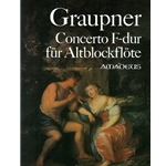 Graupner Concerto in F Major (Score)