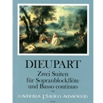 Dieupart 2 suites for soprano recorder and bc