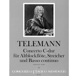 Telemann, GP Concerto in C Major (Set of parts: 4,4,3,4,3)