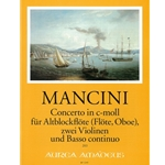Mancini, F Concerto XX in c minor (Sc+P)