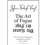 Bach, JS: Art of Fugue: the Four-Part Contrapuncti arranged for recorders