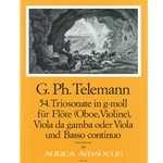 Telemann, GP: Trio Sonata 54 in g minor (TWV42:g15)