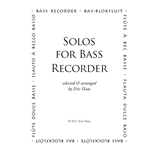 Solos for Bass Recorder