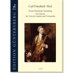 Title: Abel, CF: 4 Duets for Viola da Gamba and Violoncello