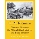 Telemann, GP Concerto da camera in g minor (TWV 43:g3)