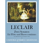 LeClaire, JM: 2 Sonatas op. 2/2 e minor, op. 4/7 G Major