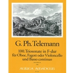 Telemann, GP: 100. Triosonata in F Major (TWV:F16)