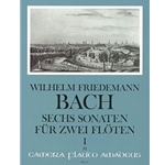 Bach, WF 6 Sonatas, nos. 1-3 (e minor, G Major, E-flat Major)