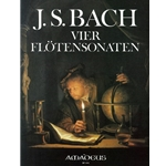 Bach, JS 4 Authentic Sonatas (BWV1030 in b, BWV1032 in A, BWV1034 in e & BWV1035 in E)