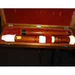 Bressan voice flute with ivory