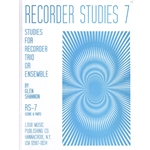 Glenn Shannon: Studies for Recorder Trio