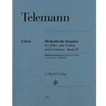 Telemann, GP: Methodical Sonatas, vol. 2
