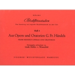 arr. Hoeffer von Winterfeld: Recorder Studies from Handel's Operas and Oratorios