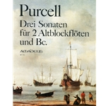 Purcell, Daniel 3 Sonatas