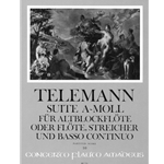 Telemann, GP Suite in a minor (score only)