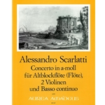 Scarlatti, A Concerto in a minor
