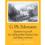 Telemann, GP Quadro in g minor(TWV43:g4)