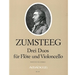 Zumsteeg 3 Duos for flute and cello