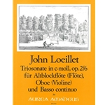 Loeillet, John Trio Sonata in c minor, op. 2/6