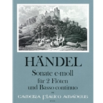 Handel, GF: Trio Sonata in e minor