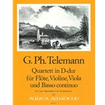 Telemann, GP: Quartett 1 in D Major (TWV 42:D4)