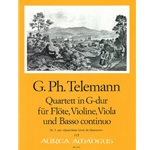 Telemann, GP: Quartett 5 in G Major (TWV 43:G5)