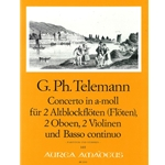 Telemann, GP: Concerto a 7 in a minor (TWV 44:42)
