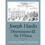 Haydn Divertimento III in F Major