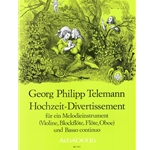 Telemann, GP Wedding Divertissement (with facsimile)
