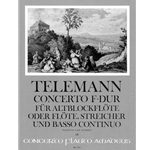 Telemann, GP Concerto in F Major (part; please specify)