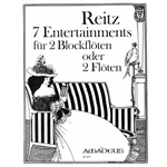 Reitz, Heiner: 7 Entertainments, op. 7