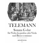 Telemann, GP Sonata in G Major from Der Getreue Musikmeister (TWV 41:G6)