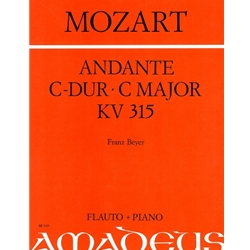 Mozart, WA Andante in C Major KV315 (Keyboard reduction)
