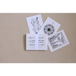 Blank Early Music Greeting Cards