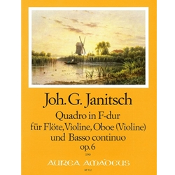 Janitsch Quadro in F Major op. 6 (Sc+P)